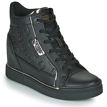 Shoes Women High top trainers Guess FABIA Black