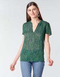 material Women Blouses Ikks BR11055 Green