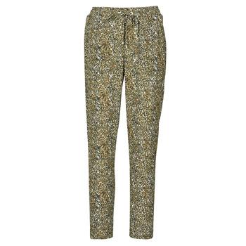 material Women Wide leg / Harem trousers Ikks BR22005 Kaki