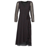 material Women Long Dresses Ikks BR30225 Black