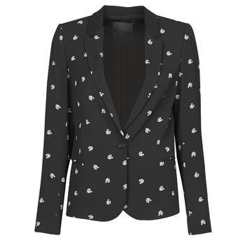 material Women Jackets / Blazers Ikks BR40115 Black