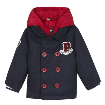 material Boy coats 3 Pommes 3R41023-04 Marine