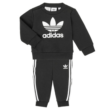 material Children Sets & Outfits adidas Originals CREW SET Black