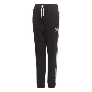 material Children Tracksuit bottoms adidas Originals TREFOIL PANTS Black