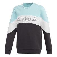 material Boy sweaters adidas Originals BX 2.0 CREW Blue / Grey / Black