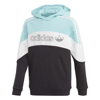 material Boy sweaters adidas Originals BX 2.0 HOODIE Blue / Grey / Black