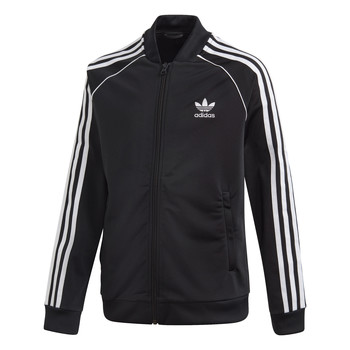 material Children Jackets adidas Originals SST TRACKTOP Black