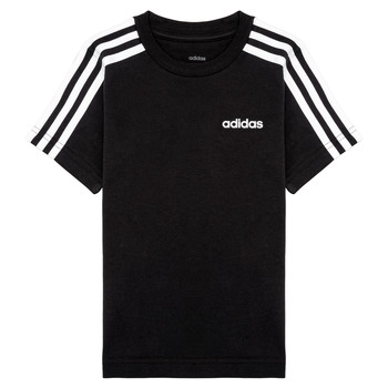 material Boy short-sleeved t-shirts adidas Performance YB E 3S TEE Black