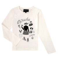 material Girl Long sleeved shirts Emporio Armani 6H3T01-3J2IZ-0101 White