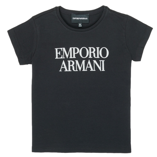 material Girl short-sleeved t-shirts Emporio Armani 8N3T03-3J08Z-0999 Black