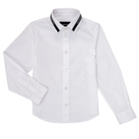 material Boy long-sleeved shirts Emporio Armani 6H4CA6-1NXYZ-0100 White