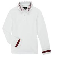 material Boy long-sleeved polo shirts Emporio Armani 6H4FJ4-1J0SZ-0101 White