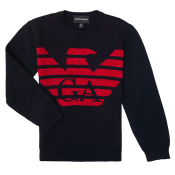 material Boy jumpers Emporio Armani 6H4MTL-1MDDZ-F934 Marine