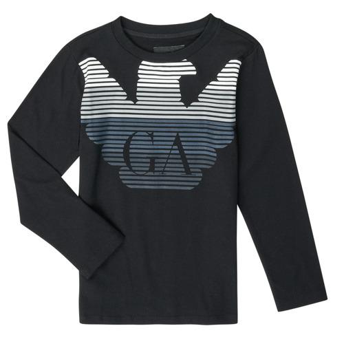 material Boy Long sleeved shirts Emporio Armani 6H4T17-1J00Z-0999 Black