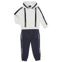 material Boy Tracksuits Emporio Armani 6H4V02-1JDSZ-0101 Marine / White