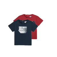 material Boy short-sleeved t-shirts Emporio Armani 6HHD22-4J09Z-0353 Multicolour