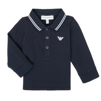 material Boy long-sleeved polo shirts Emporio Armani 8NHF07-1JPTZ-0939 Marine