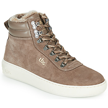Shoes Women High top trainers TBS IMAGINE Taupe