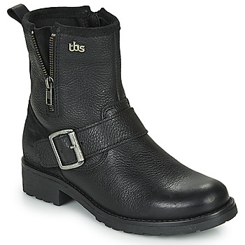 Shoes Women Mid boots TBS PANELLA Black