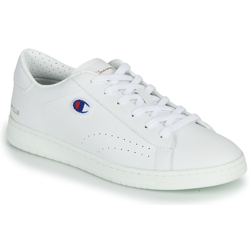 Champion COURT CLUB PATCH White - Fast