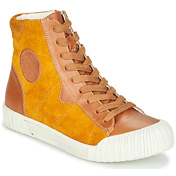 Shoes Women High top trainers Karston OMSTAR Ocre tan