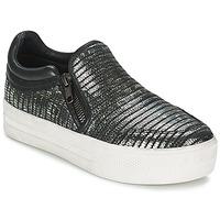 Shoes Women Slip ons Ash JORDY Grey / Metallic