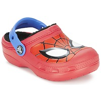 Shoes Boy Clogs Crocs SPIDERMAN LINED CLOG Red