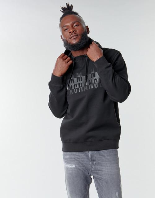 material Men sweaters Armani Exchange 6HZMFK Black