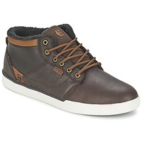Shoes Men High top trainers Etnies JEFFERSON MID Brown