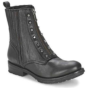Shoes Women Mid boots Ash RACHEL Black