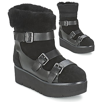 Shoes Women Mid boots Ash ZAZIE Black