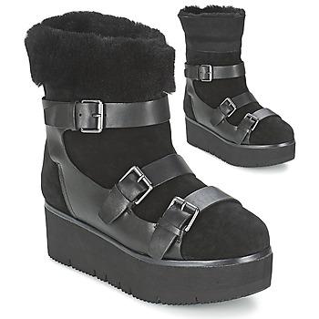Ankle boots / Boots Ash ZAZIE Black 350x350