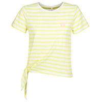 material Women short-sleeved t-shirts Only ONLBRAVE Yellow
