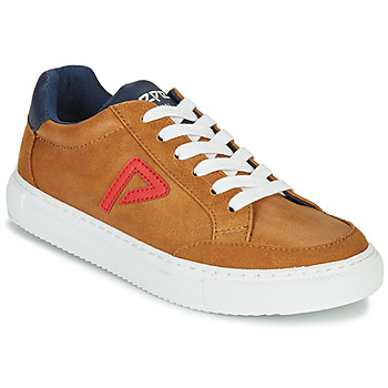 Shoes Boy Low top trainers Pepe jeans ADAM ARCHIVE Camel