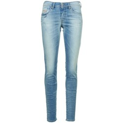 material Women slim jeans Diesel FRANCY Blue / Clear