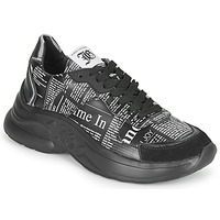 Shoes Men Low top trainers John Galliano 3544 Black