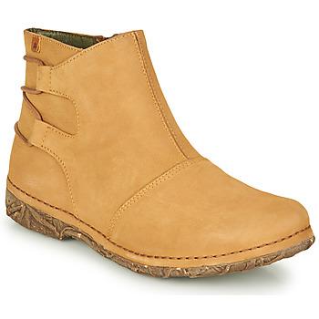 Shoes Women Mid boots El Naturalista ANGKOR Camel