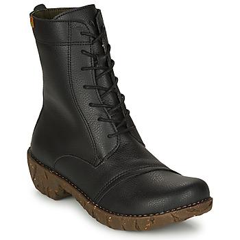 Shoes Women Mid boots El Naturalista YGGDRASIL Black