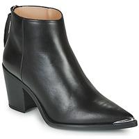 Shoes Women Ankle boots Unisa MIRTE Black