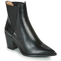 Shoes Women Ankle boots Unisa MUNIS Black
