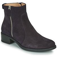 Shoes Women Mid boots Unisa EBRAS Marine