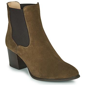 Shoes Women Ankle boots Unisa MAZE Kaki