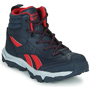 Shoes Boy Low top trainers Reebok Sport RUGGED RUNNER MID Black / Red