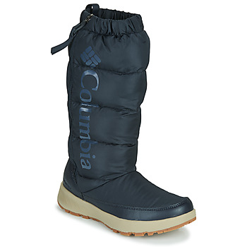 Shoes Women Snow boots Columbia PANINARO OMNI HEAT TALL Blue