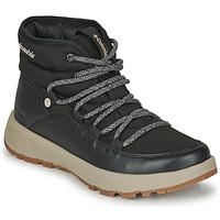 Shoes Women Snow boots Columbia SLOPESIDE VILLAGE OMNI HEAT MID Black