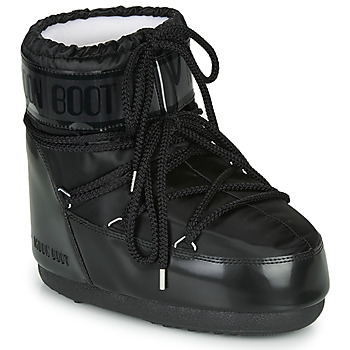 Shoes Women Snow boots Moon Boot MOON BOOT CLASSIC LOW GLANCE Black