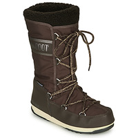Shoes Women Snow boots Moon Boot MOON BOOT MONACO WOOL WP Brown