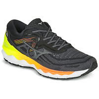 Shoes Men Running shoes Mizuno WAVE SKY 04 Black / Yellow