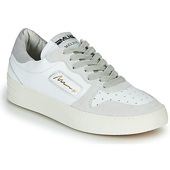 Shoes Women Low top trainers Meline STRA-A-1060 White / Beige