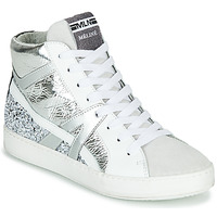 Shoes Women High top trainers Meline IN1363 White / Silver